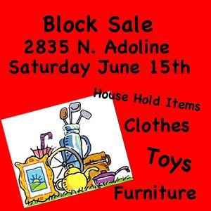 Block Sale for Sale in Fresno, CA