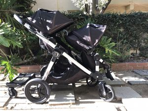 Baby Jogger City Select Twin Stroller - full meal deal with accessories for Sale in West Hollywood, CA