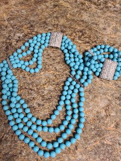 Turquoise Necklace And Bracelet for Sale in San Antonio,  TX
