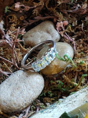Sky Blue Topaz Ring for Sale in Pompano Beach, FL