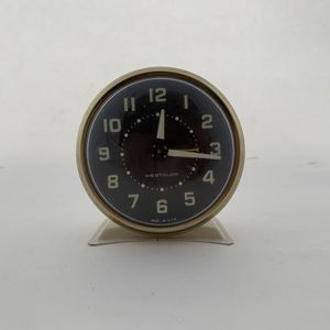 Mid century alarm clock Glow In the dark for Sale in Denver, CO