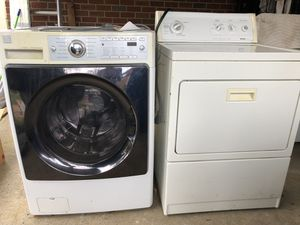 Kenmore washer and dryer, very good condition, pick up only. $200 or Best offer. for Sale in Berwyn Heights, MD