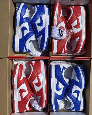 Nike SB dunk low Kentucky / St. John skateboarding shoes sneakers for Sale in Perris, CA