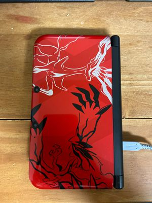 3DS XL Special Edition Pokémon X/Y Red with case for Sale in Frederick, MD