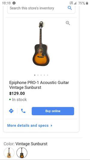 Epiphone Pro-1 VS for Sale in Punta Gorda, FL