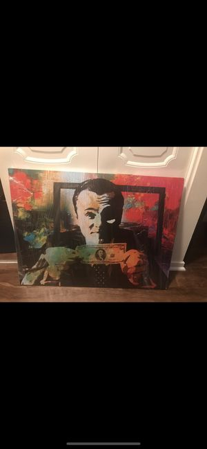 Wolf of Wall Street Canvas Art 24x32 inches for Sale in Alexandria, VA