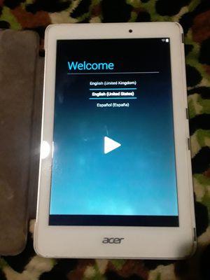 Acer tablet for Sale in Pomona, CA