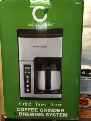 Conair Cuisine Coffee maker for Sale in Tacoma, WA