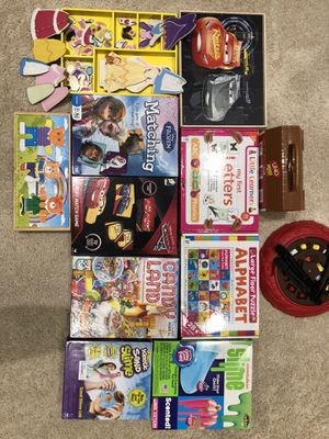 Toddler puzzles & games for Sale in West Bloomfield Township, MI