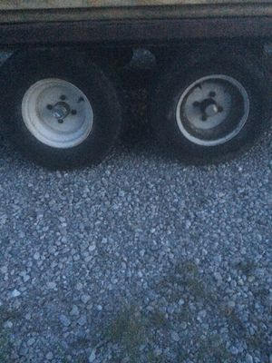"""Wanted 10"""" tires for trailer for Sale in Camden, IN"""