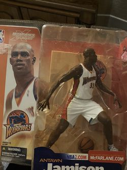 Antawn Jamison Warriors Action Figure *NEW* for Sale in Tualatin,  OR