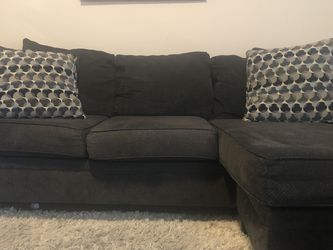 Grey Sectional + Armchair With Matching Pillows for Sale in Dallas,  TX