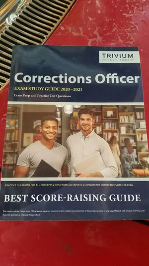 Corrections officer study guide for Sale in Stockton, CA