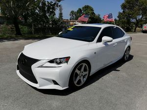 2015 LEXUS IS 250 RED INTERIOR for Sale in Miami, FL