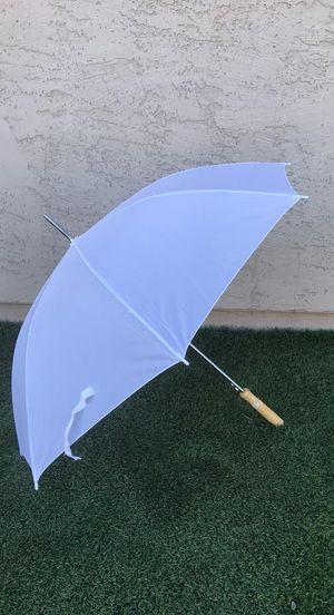20 white wedding umbrellas BRAND NEW IN BOX for Sale in Peoria, AZ