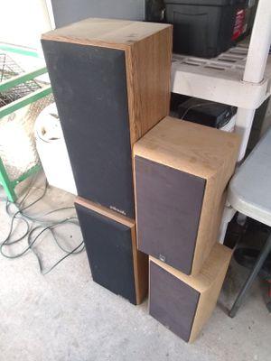 Speakers JBL, polk for Sale in Eastvale, CA