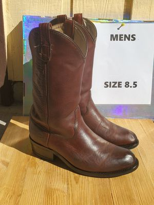Double H men's work boots size 8.5 for Sale in Beavercreek, OR