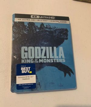 Godzilla: King of the Monsters Steelbook for Sale in Garden Grove, CA