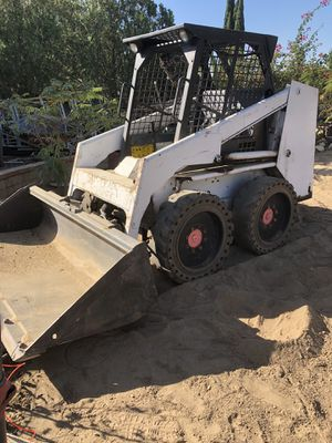 We bundle of bobcat and trailer for one price for Sale in Rialto, CA