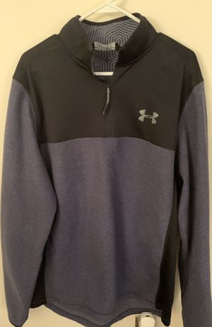 Mens Under Armor 1/2 zip Cold Gear Sweatshirt- XL for Sale in Columbus, OH