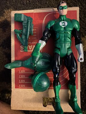 Green lantern action figure dc universe for Sale in Long Beach, CA