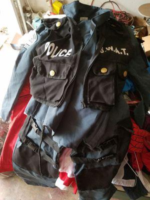 SWAT Halloween costume. Child medium 8-10. Worn once. for Sale in Grand Prairie, TX