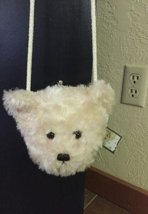 Soft teddy bear pocket purse and play peekaboo teddy bear for Sale in Newberg, OR