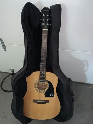 Gibson Epiphone PR-160 Acoustic Guitar w/New Gig Bag & Accessories for Sale in Naugatuck, CT