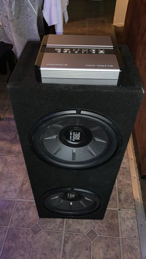 JBL SUBWOOFERS IN BOX for Sale in Baldwin Park, CA