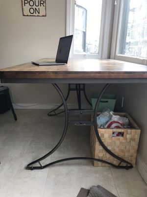 Industrial dining table for Sale in San Francisco, CA