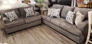 Ashley gray sofa and loveseat set for Sale in Woodbridge, VA