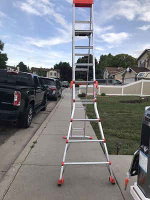 Brand new little Giant tipe A ladder 6ft and 10ft extended $200 No trades for Sale in West Valley City, UT