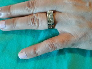 925 Sterling Silver Wedding Ring, Size 6. for Sale in Dallas, TX