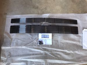 Gloss black Billet Grille overlays for 2015 Chevy Silverado for Sale in Oroville, CA