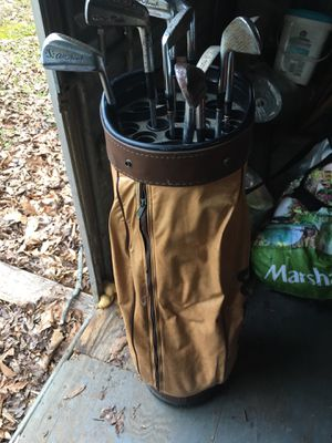 Golf clubs and golf bag (make me an offer) for Sale in Greensboro, NC