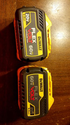 Dewalt Flex 60v..9.0 for Sale in Fairfax, VA