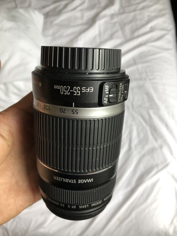 Canon 55-250 mint condition lens only