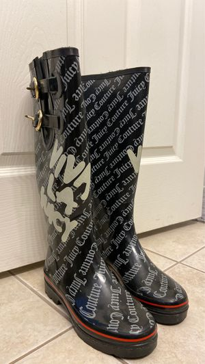 Juicy Couture Rain Boots for Sale in North Las Vegas, NV