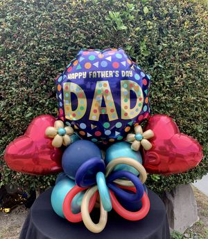 Fathers Day Balloon Bouquet for Sale in Los Angeles, CA