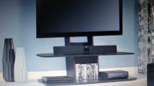 """Altra Galaxy XL TV Stand with Mount for TVs up 65"""", Espresso for Sale in Indianapolis, IN"""