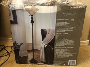 Brand new Bridgeport Designs Torchiere Floor Lamp for Sale in Peoria, AZ