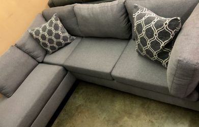 Only 40 up front to take home - Grey Sectional Sofa Couch for Sale in Los Angeles,  CA