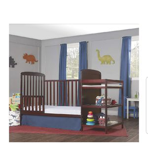 New!!Dream On Me Anna 4-in-1 Convertible Crib and Changing Table Combo for Sale in Columbus, OH