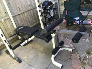 Squat/bench/back Smith machine for Sale in Manassas, VA