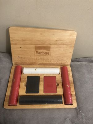 Vintage Marlborough poker set never used for Sale in Dubuque, IA