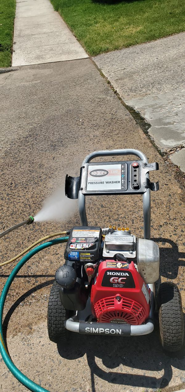 Honda presure washer 3300 psi