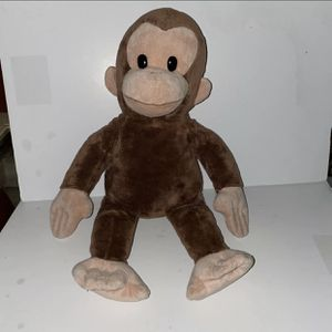 """16"""" Curious George Monkey stuffed Animal Plush for Sale in Naples, FL"""