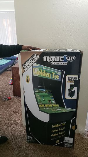 Golden tee arcade game brand new in the box for Sale in Sparks, NV