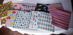 Individual wrapping paper sheets for Sale in Calvin, WV