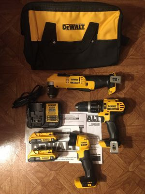DeWalt. 20V MAX Lithium Ion 3-piece Cordless Combo Kit. for Sale in Brooklyn, NY